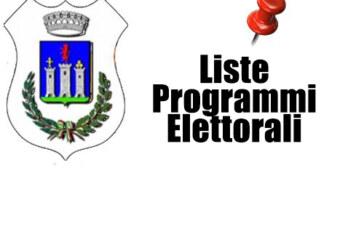 Programmi elettorali – Liste candidature