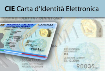 Rilascio della Carta  d'Identità Elettronica dal 01.11.2020